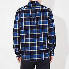 INDIGO BEIGE PLAID