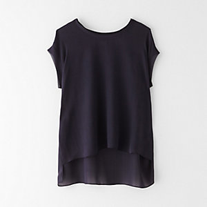 SLEEVELESS GEORGETTE TOP