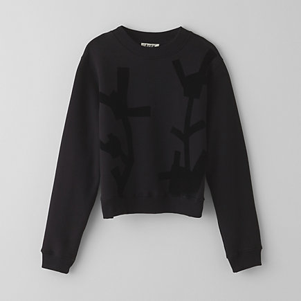 BIRD FLOWER SWEATSHIRT