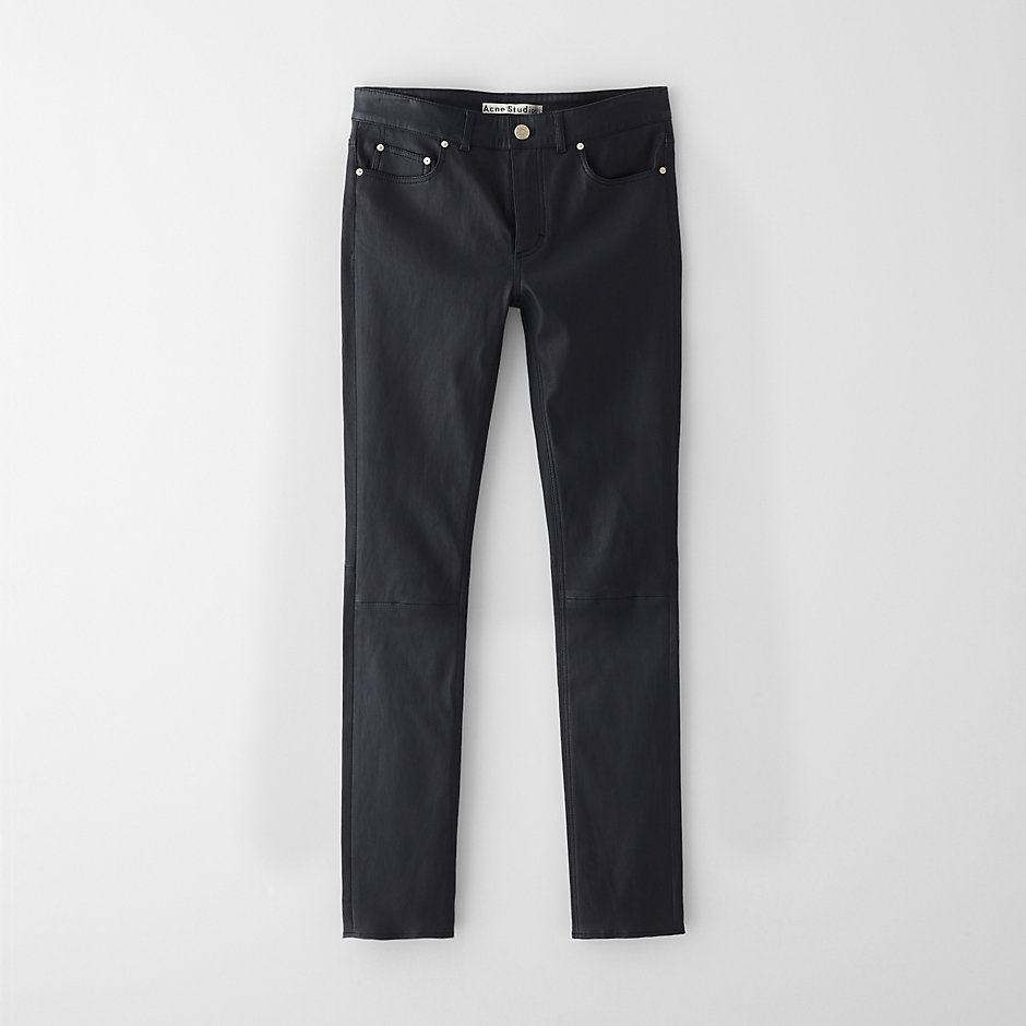 CLOSE LEATHER JEAN