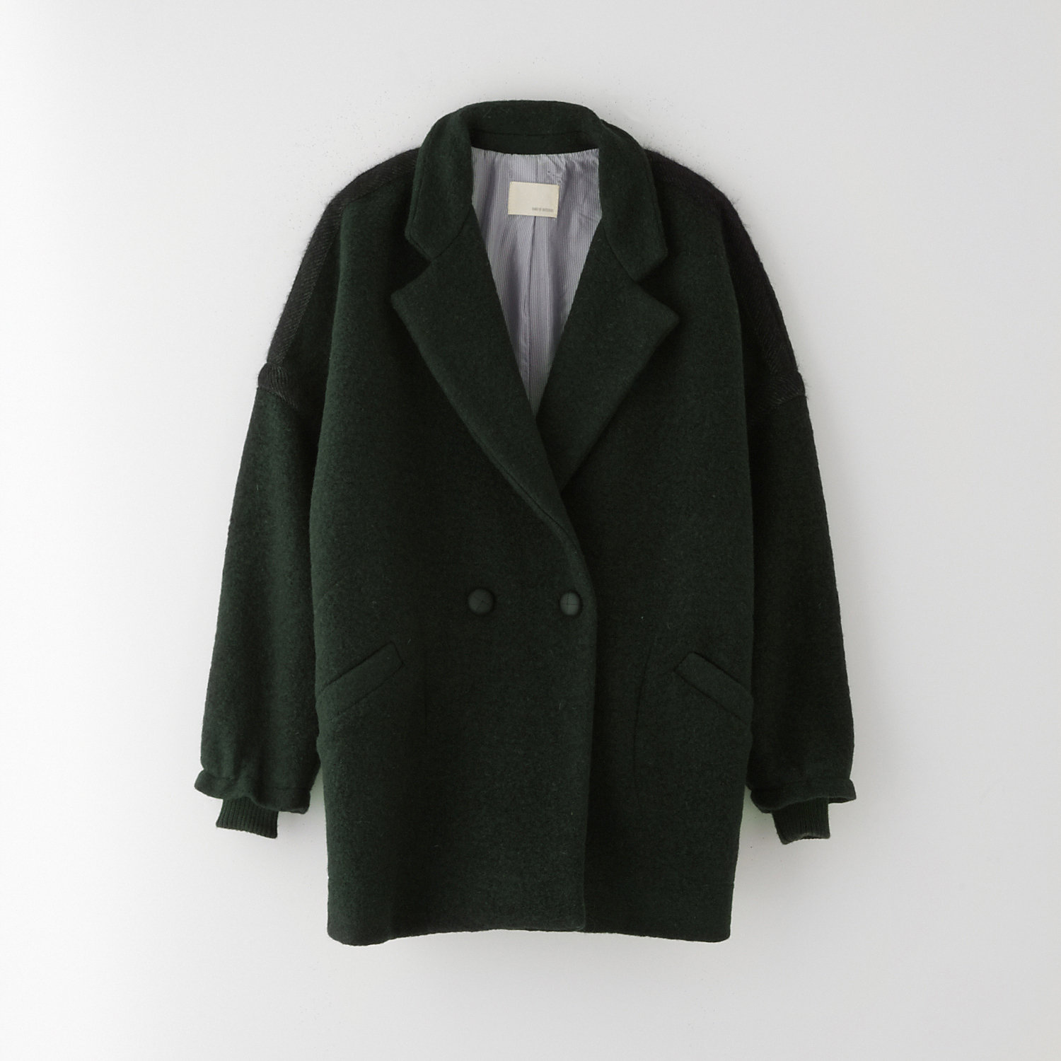 DROP SHOULDER COAT