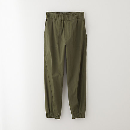 STRETCH SATEEN SWEATPANT