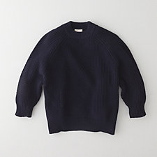 CHELSEA COTTON RIB SWEATER