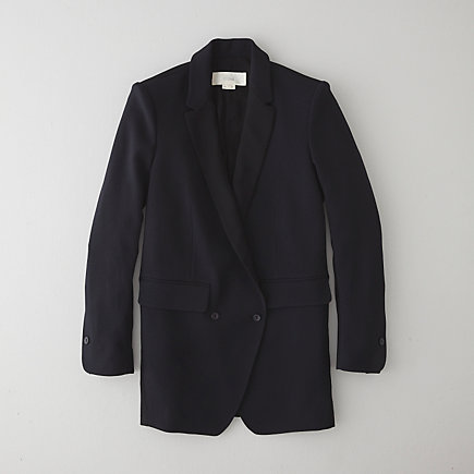 FABRIC PATCHED TAILORED JACKET