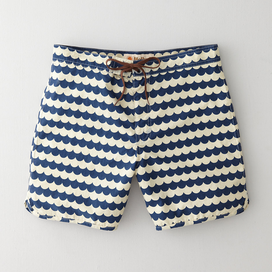 WAVE PATTERN BOARDSHORT