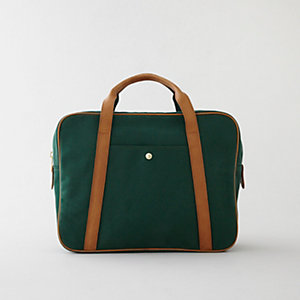 CONVERTIBLE CANVAS BRIEFCASE
