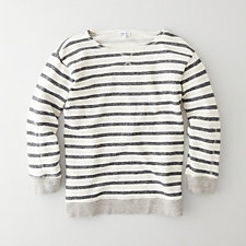 DAGNEY STRIPED SWEATSHIRT