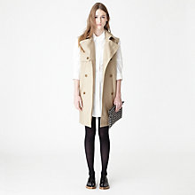 INGA SLEEVELESS TRENCH