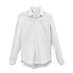 Reverse Seam Shirt L/S Inside Pocket