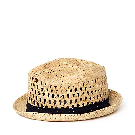 Packable Raffia Hat