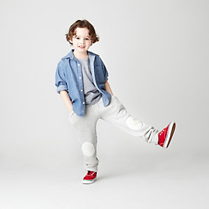 KIDS REVERSE SEAM SHIRT