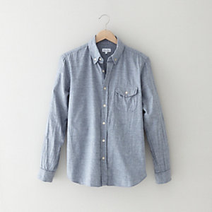 FLAP POCKET COLLEGIATE SHIRT