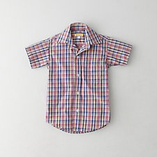 KIDS SHORT SLEEVED REVERSE SEAM SHIRT