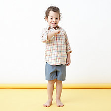 KIDS REVERESE SEAM SHIRT