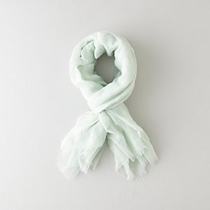 COTTON GAUZE SCARF