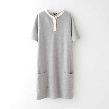 BAND COLLAR RUGBY DRESS