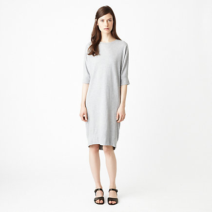 LONG SWEATSHIRT DRESS