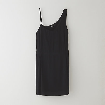 ASYMMETRIC SEAMED DRESS