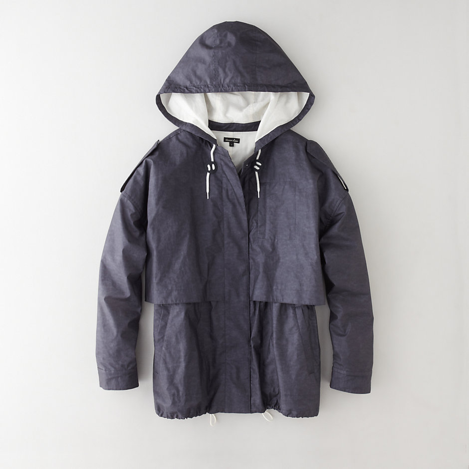 FRONT PANELLED ANORAK