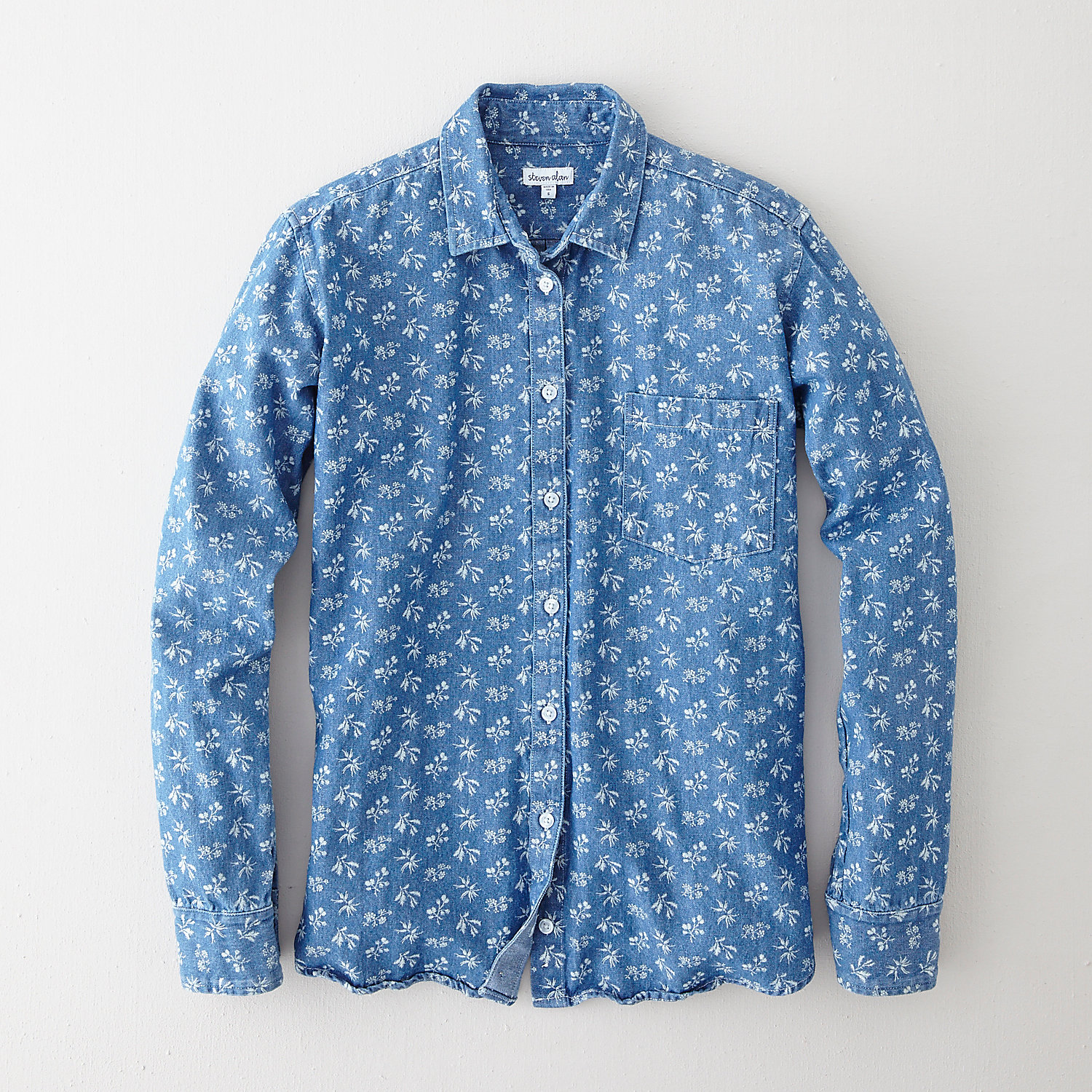 DENIM BOYFRIEND SHIRT