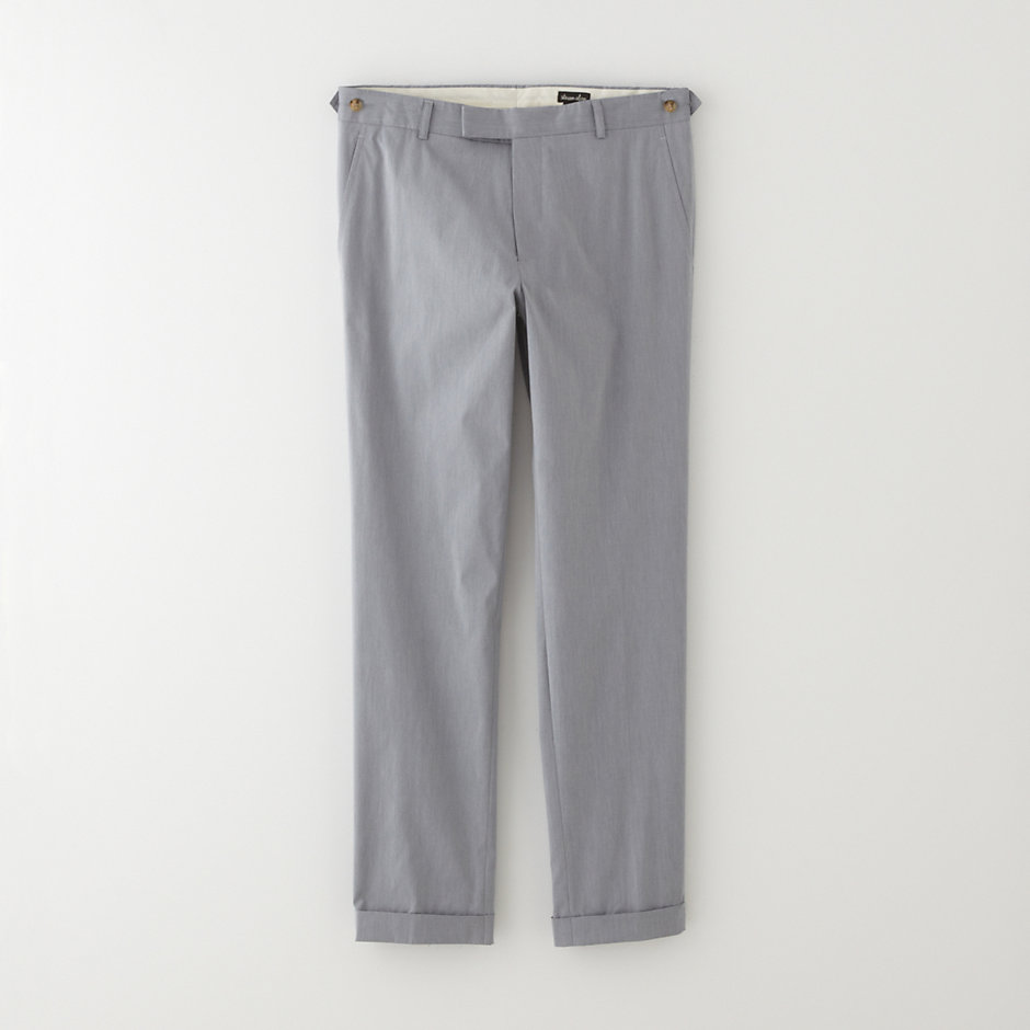 SLIM CUFFED TROUSER