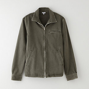 ZIP UP SHIRT JACKET