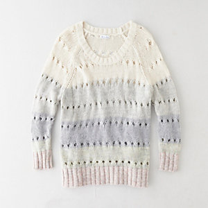 DEGRADE BOYFRIEND SWEATER