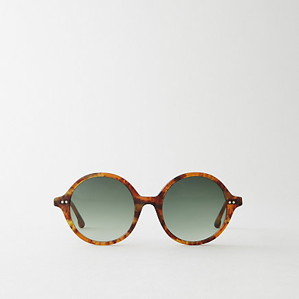 BROWN HEATHER TORTOISE BEATRICE SUNGLASSES