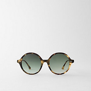 BEATRICE SUNGLASSES - DARK TORTOISE