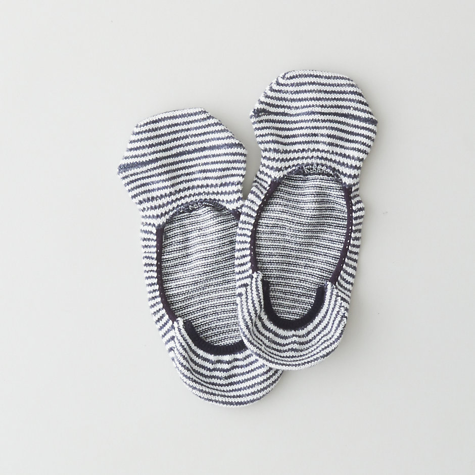 NEP STRIPE LOAFER IN SOCK