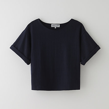 CROPPED SHORT SLEEVE TEE