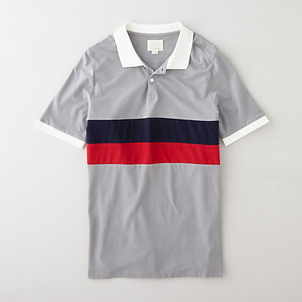 PANEL STRIPE POLO