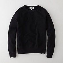 COLLEGE BLACK SWEATSHIRT
