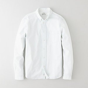 ISHERWOOD WHITE DENIM SHIRT