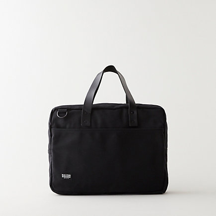 LEATHER CANVAS BRIEFCASE