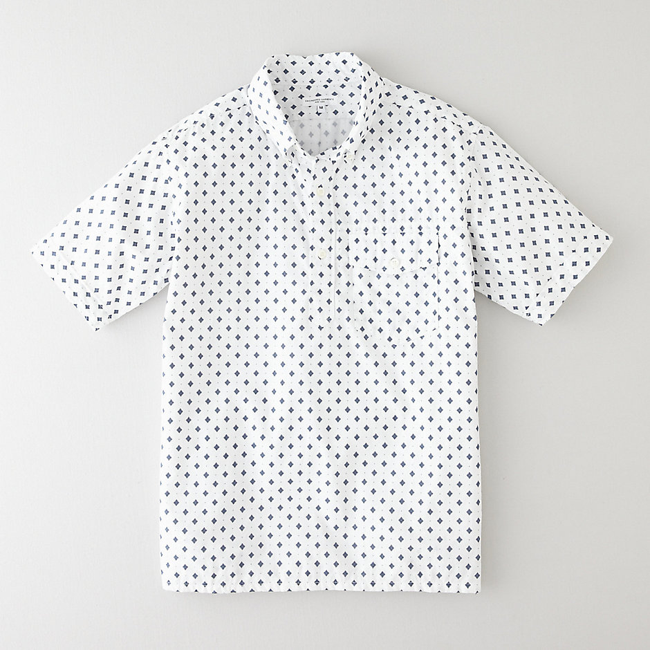 POPOVER BUTTON DOWN SHIRT