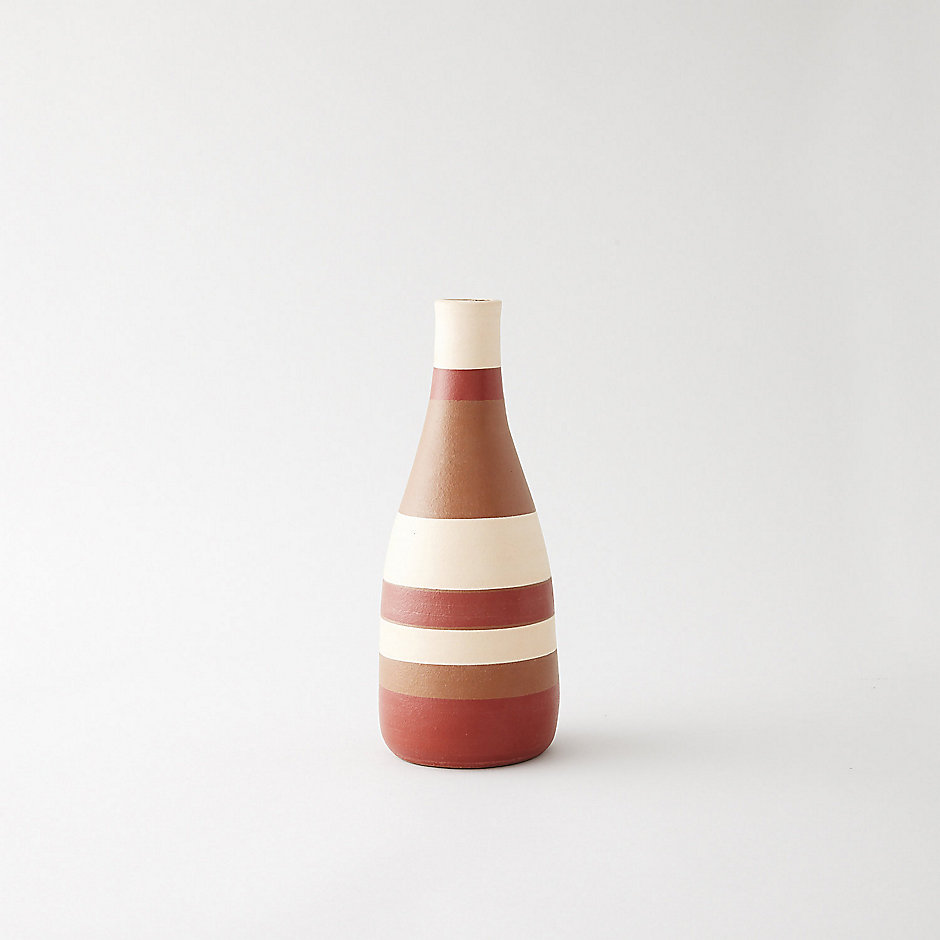 SMALL STRIPED VASE