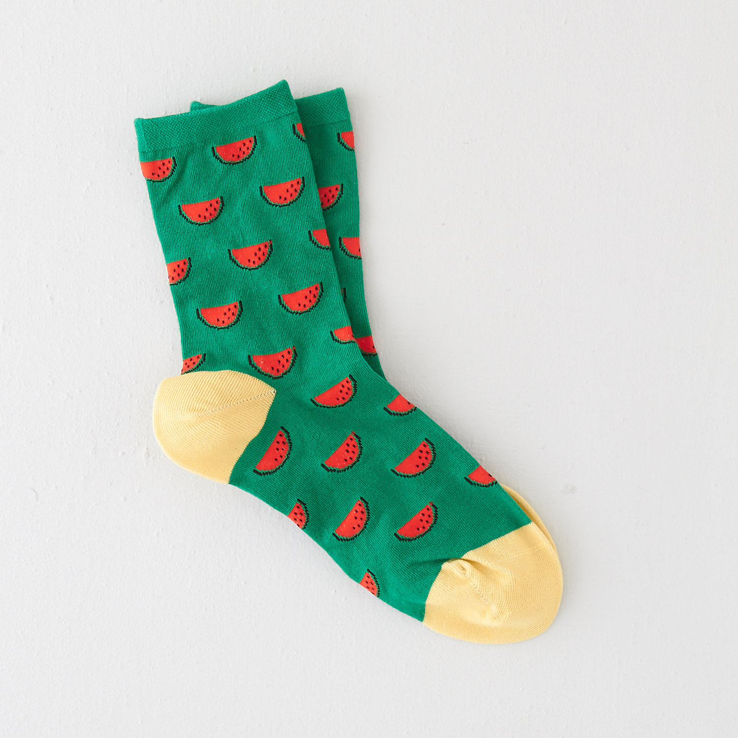 WATERMELON CREW SOCK