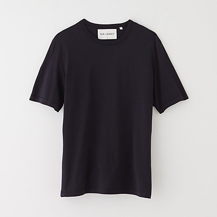 MID SLEEVE TEE NAVY