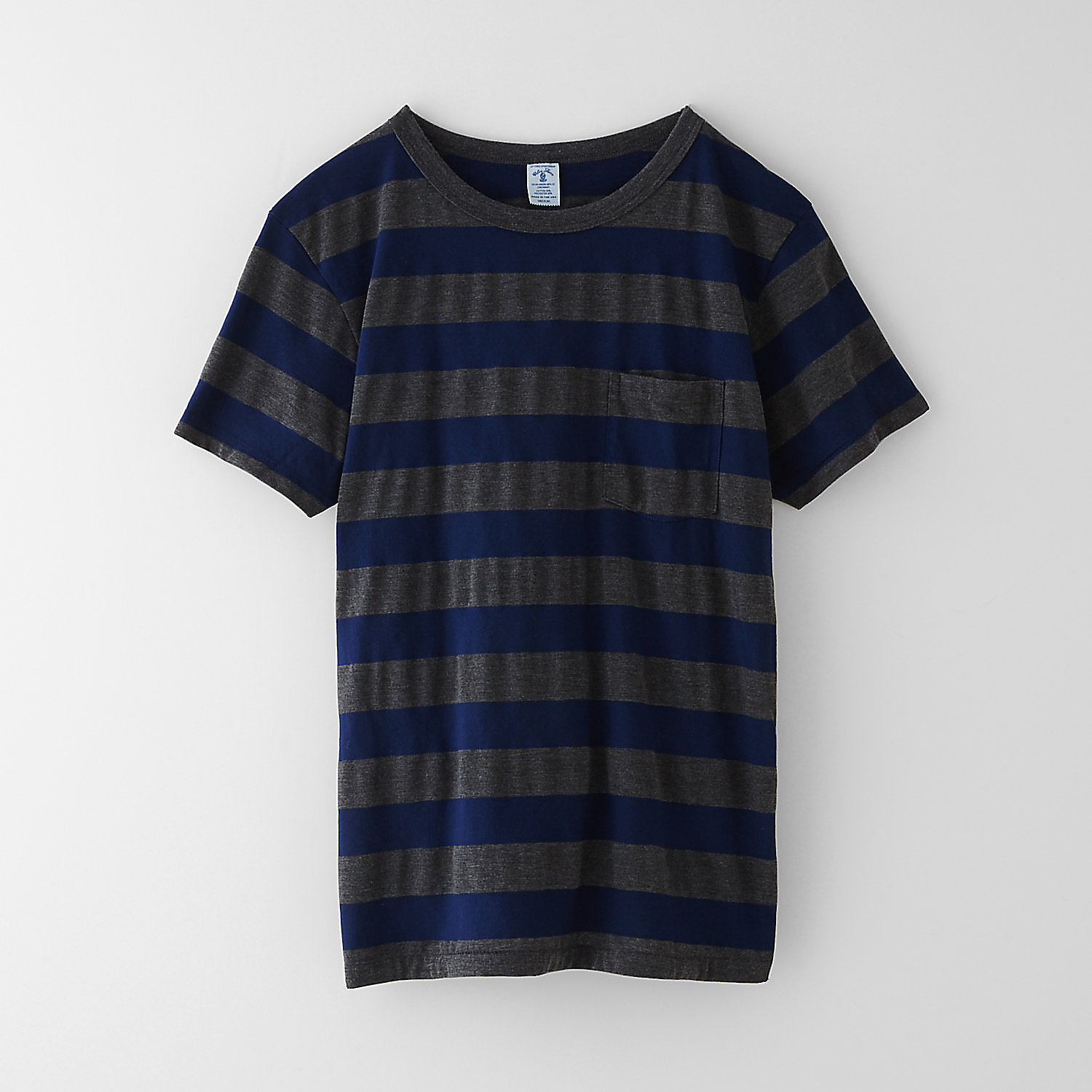 BIG STRIPE POCKET TEE