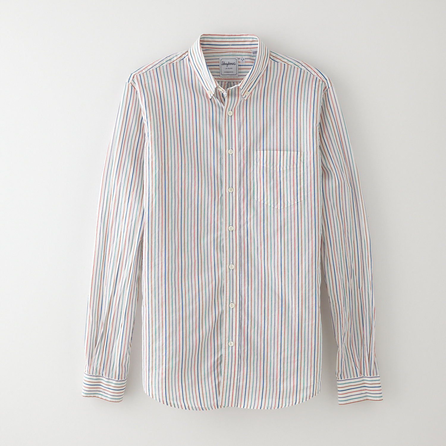 LEISURE MUSSOLD STRIPE SHIRT