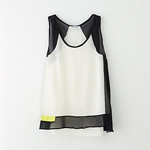 CARL SLEEVELESS SHELL TOP