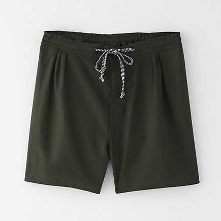 COTTON DRAWSTRING SHORT