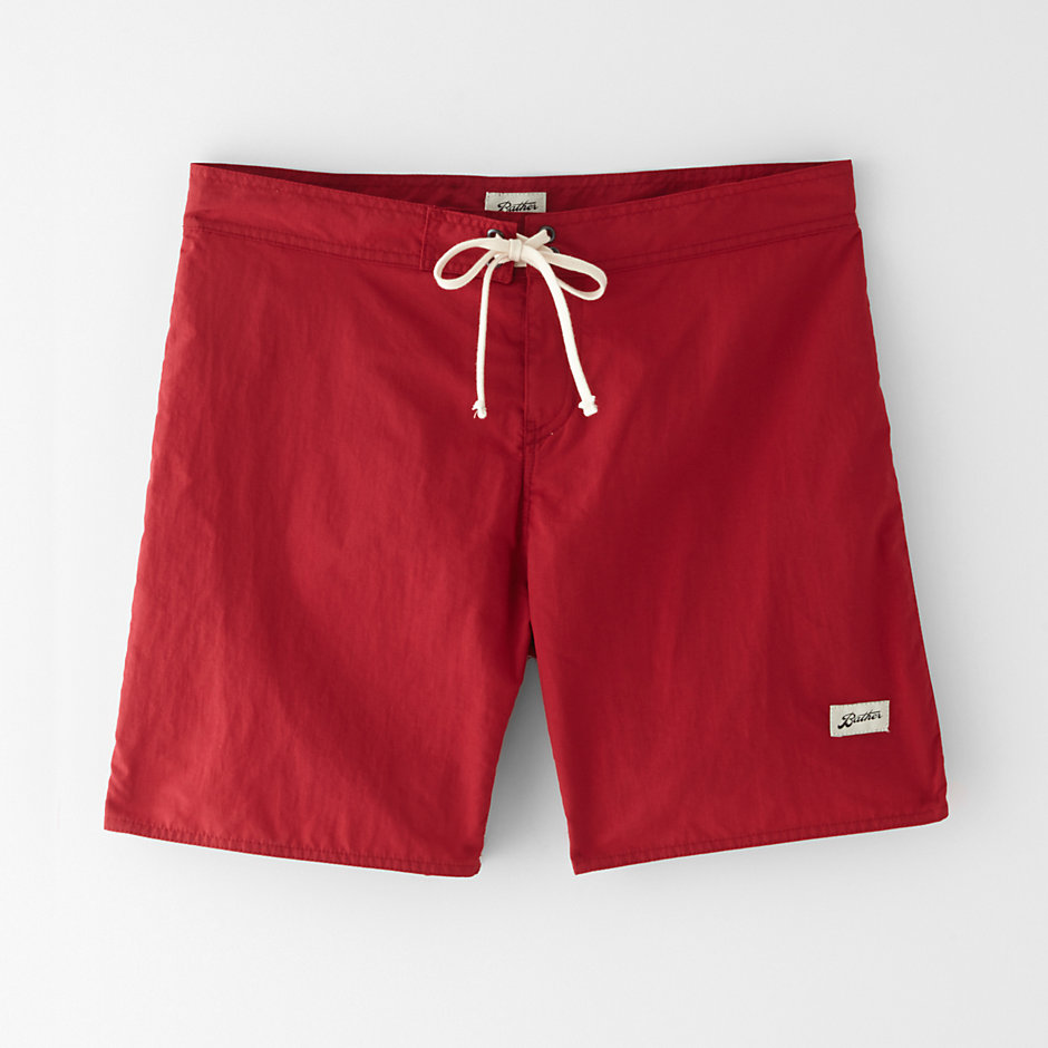 SURF TRUNK LIFEGUARD RED