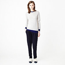 TATE COLORBLOCK CASHMERE SWEATER