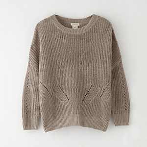 GRAHAM CROPPED LINEN PULLOVER