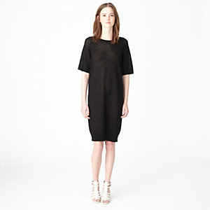 VIVIANA LINEN SWEATER DRESS