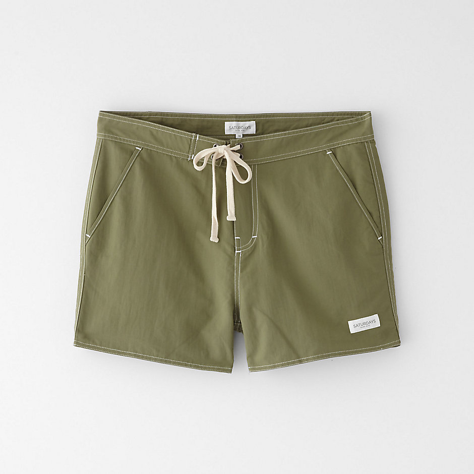 POCKETED SWIM TRUNK