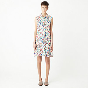 SAIL BUTTON FRONT DRESS