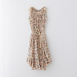 EMPIRE ROPE TIE DRESS
